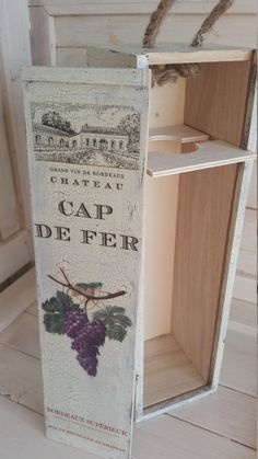 Items similar to Wooden personalizable wine holder on Etsy