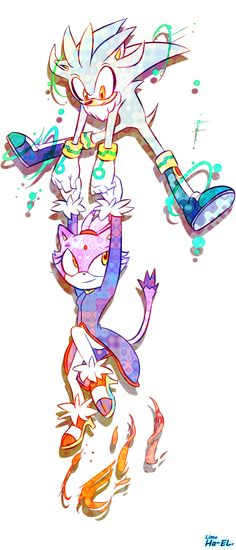 "Silver & Blaze- ""Just not TOO high, Silver."";)"