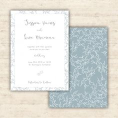 Menu card with calligraphy and embellishments item wedding tender wedding invitation with botanical patterns free vector stopboris Image collections