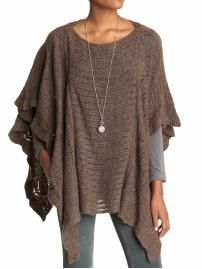 Poncho now. Free People Snow Nymph Cape Piperlime.com $128.00