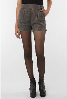 High Rise Luxe Shorts #urbanoutfitters