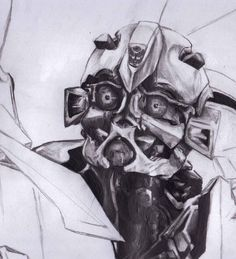 trasnfomers+drawing | Bumblebee Drawing - incomplete by the4got10one on deviantART