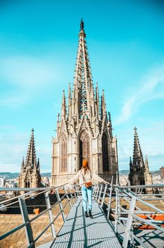 The Barcelona Cathedral in Barcelona, Spain. By kelseyschmitt.com.