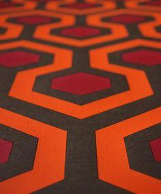 Overlook Hotel Carpet Pattern
