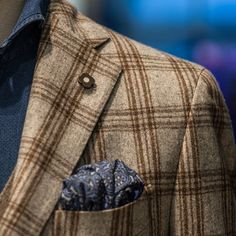 New Sprezzatura | anthonyknaape: And a close up from the jacket by...