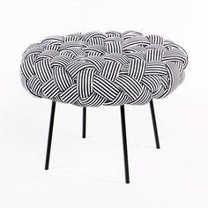 Beautiful Pufe Cloud Preto E Branco | Design Por Humberto Da Mata | MUMA | Muma. Home Design Ideas