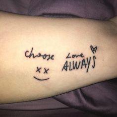 Harry Styles Tattoos, Harry Tattoos, Disney Tattoos, 5sos Tattoo, Lyric Tattoos, Get A Tattoo, Mini Tattoos, Cute Tattoos, New Tattoos