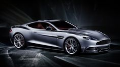 2013 Aston Martin Vanquish silver car wallpaper 1920x1080