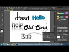 Adobe Illustrator CS6 Text Basics - Text Tool Tutorial