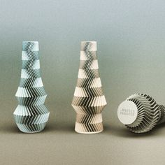 Instagram media by zampik - There is something new at @thingiverse #thingiverse #3dprint #3dprinted vase design #zigzag #home #decor #accessories