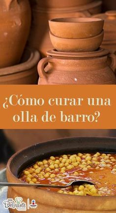 Como curar una olla de barro | CocinaDelirante Vegetarian Recipes Easy, Mexican Food Recipes, Healthy Recipes, Morrocan Food, Cooking App, Yummy Food, Tasty, Le Chef, Food Humor