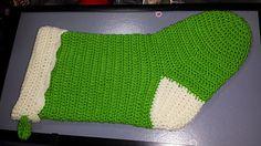 Easy Stocking - free crochet pattern by Raechel Mayfield.
