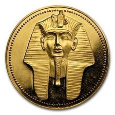 Egypt 1986, £100 Gold Proof coin.
