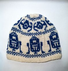 Knitting Patterns Beanie Star Wars Beanie Hat, (Knitted Fair Isle) Hand knitted with a medium. 4 weight yarn, this Star Wars . Knitting Machine Patterns, Sweater Knitting Patterns, Knitting Charts, Knitting Yarn, Baby Knitting, Fair Isle Knitting Patterns, Knitted Baby Beanies, Knit Beanie Hat, Beanie Pattern