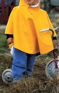 Mod le cape de gasparine patron gratuit coudre - Cape pluie enfant ...