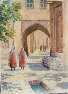 Chá-de-Lima da Pérsia: Reza Badrossama: o pintor de Isfahan