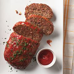 This is the iconic, traditional meat loaf like your mom used to make (or that you wished your mom would make). Mix the ingredients gently, just until combined, and don't compact the meat when shaping the loaf for best results. For extra pizzazz, garnish with parsley.