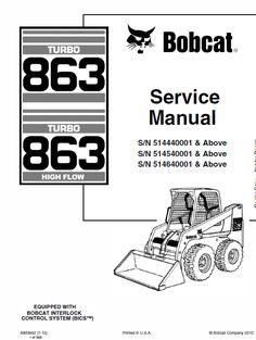 Bobcat 873 G-Series Skid Steer Loader Parts Manual PDF
