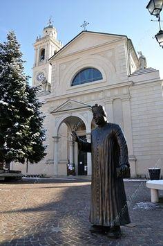 Don Camillo a (Reggio nell'Emilia) - Emilia Romagna - Italia, Italy Religious Architecture, Reggio Emilia, Santa Maria, Toulouse, Caricature, Bella, Cathedral, Italy, Memories
