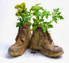"""Se virando sem grana: Reciclando """"sapatos velhos"""""""