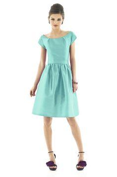 Alfred Sung D554 Bridesmaid Dress   Weddington Way