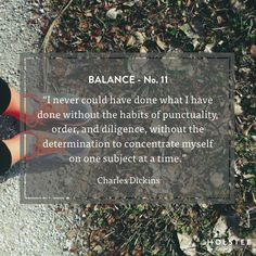 Is single-tasking the new way to achieve #balance? We'd love to know your thoughts! #MindfulMatter