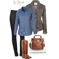 A fashion look from November 2014 featuring linen tops, jack wills blazer and dark blue jeans. Browse and shop related looks.