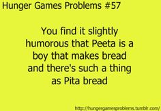 And that he lives and Panem which is Latin for bead and participates in the HUNGER Games.