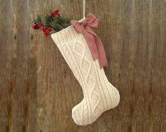 christmas stocking vintage diy