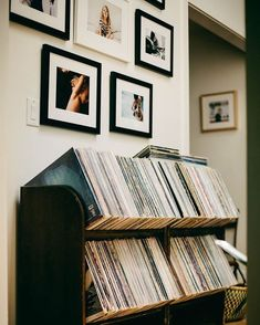 Meet James Kicinski-McCoy of Bleubird and Mother Mag - Rip & Tan Mais Vinyl Shelf, Vinyl Record Storage, Lp Storage, Diy Vinyl Storage, Vinyl Record Holder, Vinyl Record Display, Record Rack, Record Stand, Record Player