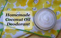 DIY Coconut Oil Deodorant | cadesertvoice