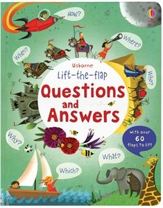 Questions and Answers lift the flap book