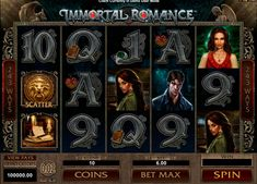 If you like love story about vampyres, then Immortal Romance online slot from Microgaming is just for you. While spinning 5 reels and observing which of 243 lines will grant you with victory. The players will love game most special feature – Wild Desire, when the reels between 1 and 5 become wild. 3 and more symbols of lion you get into free spins. Symbols with main characters will also award you with free spins, each with unique features.