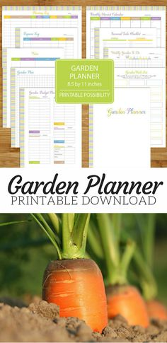 I think I'm going to have to get this Garden Planner download. I can use it to help me plan my plant wish list, set my budget, record my plantings, log my expenses, and more. #ad #gardening #instantdownloads #printables #gardenplanner