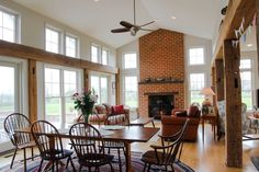 Image result for farmhouse great room
