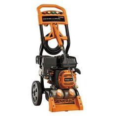 Generac 3100-PSI 2.7-GPM OHV Engine Axial Cam Pump Gas Powered Pressure Washer-6598 at The Home Depot