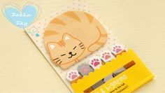 120 sheets Kawaii sticky memo  - CATS and PAWS w Fabric In Wonderland na DaWanda.com #niezchinzpasji