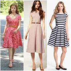 Vestido Modelos Midi verão 2015