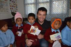 Ryan in Nepal with the Leprosy Mission