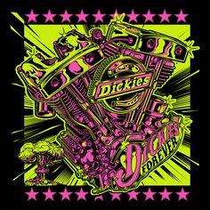 "DICKIES ""Forever"" - SPRING/SUMMER 2018 - www.dvicente-art.com"