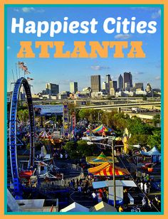 """Atlanta Ranked no. 4 """"Happiest"""" City Among America's Top 10 Markets 