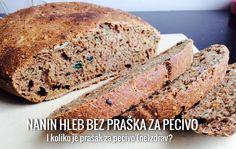 Kuva i piše: Ana Ćubela     U hrono ishrani se ne jedu hlebovi (ili peciva) pravljeni sa kvascem. Zašto? Nemam pojma. Prihvatila sam to na početku ishrane, nadajući se da ću...