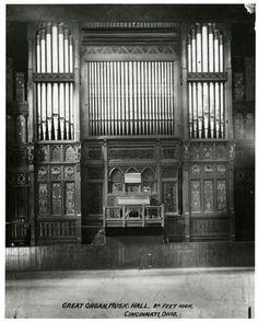I didn't even know Cincinnati Music Hall had this beautiful organ.