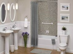 bathroom decorations for walls | Awesome Bathroom Wall Tile Designs Pictures: Awesome Bathroom Wall ...