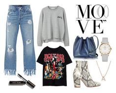 """""""Move your look"""" by stacyco ❤ liked on Polyvore featuring 3x1, MANGO, Strategia, Lancaster, Bony Levy and Bobbi Brown Cosmetics"""