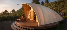Architect Harry Gesner Wave House Phil Parr Autonomous Tent Cocoon Tipi Luxury Without Boundaries Leave Without A Trace Malibu, CA Denver, CO