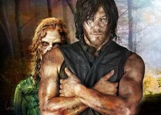 Darly Dixon And A Walker