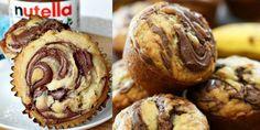Mennyei Nutellás muffin- mutatjuk lépésről lépésre! - Page 2 of 2 - Praktikus Háziasszonyok Muffin, Fudge, Nutella, Oreo, Cookies, Chocolate, Baking, Breakfast, Cake