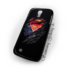 Clark Kent Superman Torn tshirt Samsung Galaxy S4 i5900 case $16.89 #etsy #Accessories #Case #cover #CellPhone #Galaxys4i9500 #superman #manofsteel #clarkkent #superhero #torntshirt