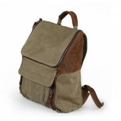 rugged canvas backpck